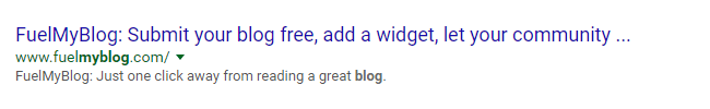 Google listing saying it's great