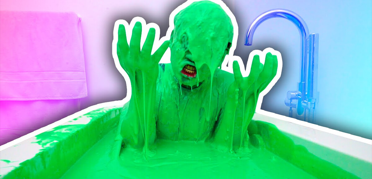 Slime in the bathtub